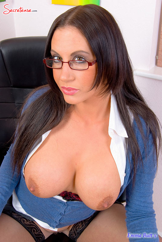 secretaria tetona